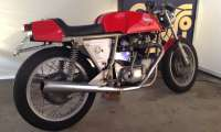 TRIUMPH Rickman Metisse - REAR THE RIGHT SIDE